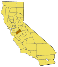 Image:California map showing Stanislaus County.png