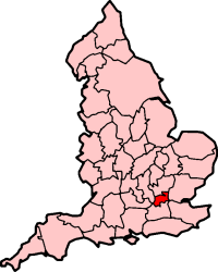 Middlesex as a  before .