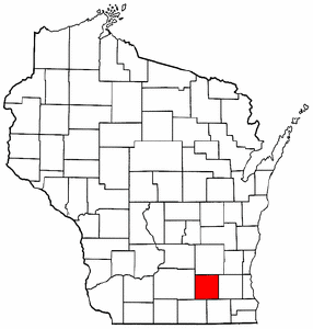 Image:Map of Wisconsin highlighting Jefferson County.png