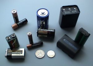various batteries