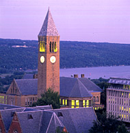 McGraw Tower houses the
