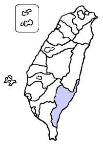 Image:Taitung_County_location.png