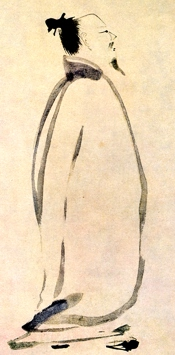 Li Bai Chanting a Poem by  (13th century)