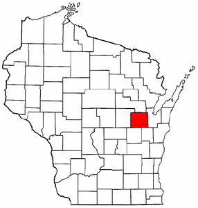 Image:Map of Wisconsin highlighting Outagamie County.png