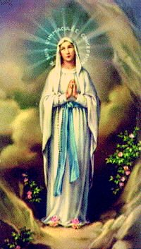 Our Lady of Lourdesfrequently displayed image commemorating Lourdes Apparition