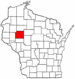 Image:Map of Wisconsin highlighting Chippewa County.png