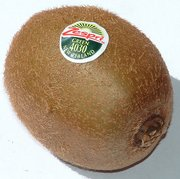 Mature kiwifruit