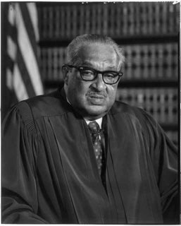 Thurgood Marshall was a leading civil rights attorney before serving as Solicitor General and finally as an Associate Justice of the United States Supreme Court.