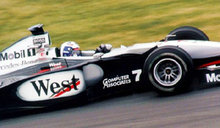 David Coulthard driving for the  Formula One team at the