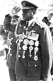 Dictators come from different social classes, including career soldiers like Field Marshal Idi Amin Dada of Uganda.