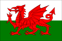 - the flag of Wales
