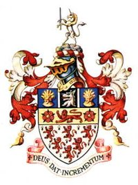 Arms of Warrington Borough Council