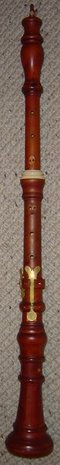Baroque Oboe, Stanesby Copy