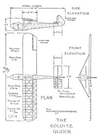 Plans for the Colditz Glider