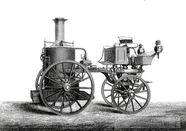 industrial machine sutherland steam fire engine. Image provided by Classroom Clip Art (http://classroomclipart.com)