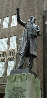 Statue of General William Booth in London