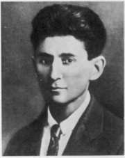 Franz Kafka approximately 1917