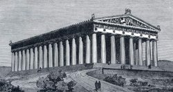 Illustration of the Parthenon, Image provided by Classroom Clipart (http://classroomclipart.com)