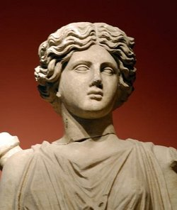 Closeup of statue of Artemis from Asia Minor. Image provided by Classroom Clip Art (http://classroomclipart.com)