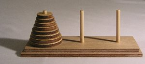 A model set of the Towers of Hanoi