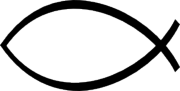The ichthys or fish symbol represents
