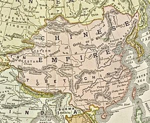 Qing Empire, 1892