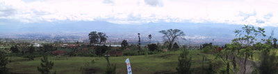 A view of Bandung from the northern highlands
