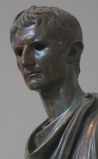 Bronze statue of Augustus, Archaeological Museum, Athens