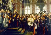 Proclamation of the German Empire in the Salle des Glaces, Versailles