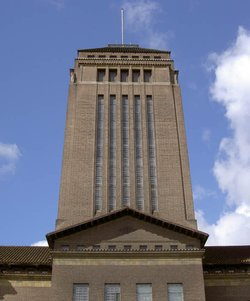 Tower at the Cambridge University Library