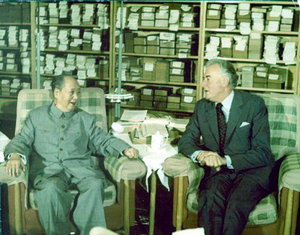 Whitlam with , Beijing 1971