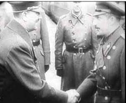 Adolf Hitler with Tsar Boris III