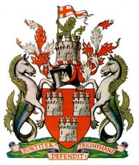 Arms of Newcastle-upon-Tyne City Council