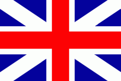 Flag of the Kingdom of Great Britain, formed in 1707 by the Act of Union 1707