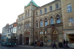 The main post office in Oxford, England