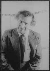 Marc Chagall as photographed in 1941 by Carl Van Vechten